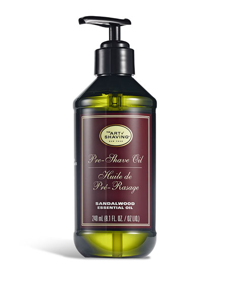 Large Pre-Shave Oil, Sandalwood
