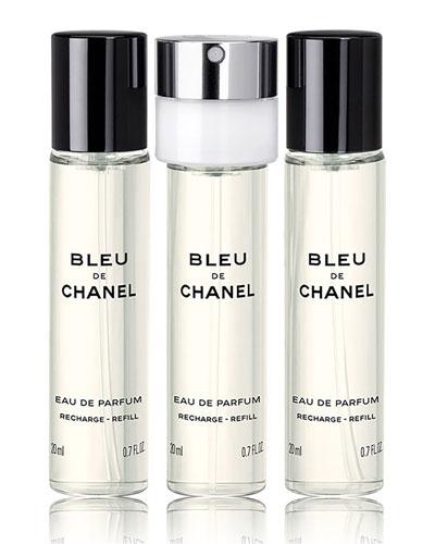 <b>BLEU DE CHANEL</b> <br>Eau de Parfum Pour Homme Refillable Travel Spray