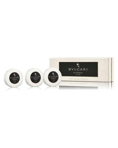 Eau Parfum&#233e Au Th&#233 Noir Soap, Set of 3