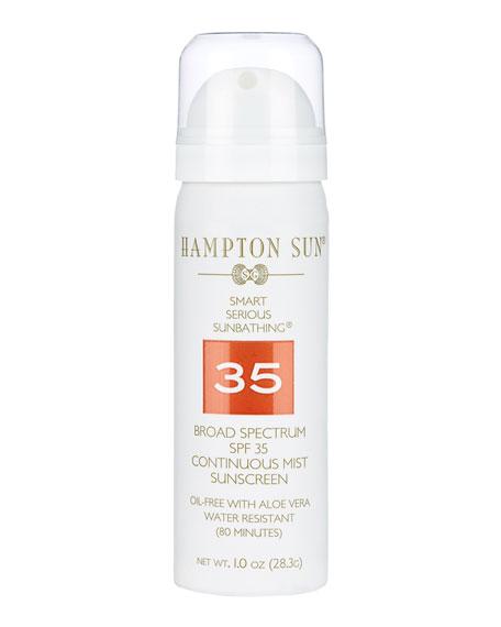 Hampton Sun Continuous Mist Broad Spectrum SPF 35