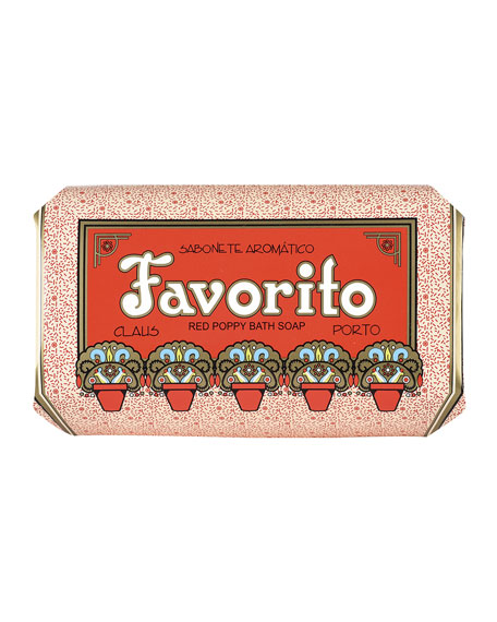 Claus Porto Favorito - Red Poppy, 350g