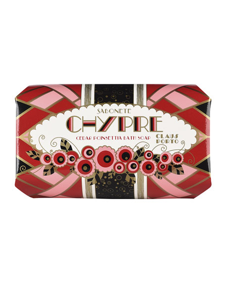 Chypre - Cedar Poinsettia Soap, 350g