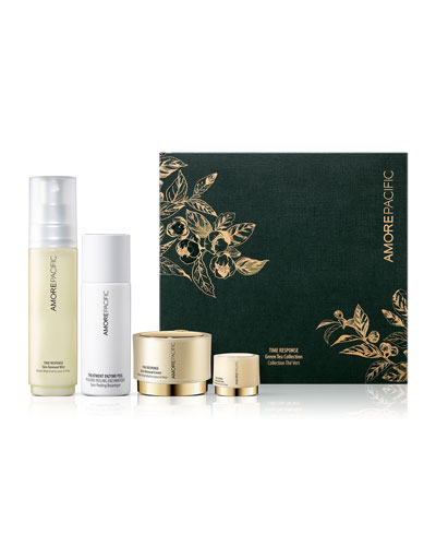 TIME RESPONSE Green Tea Spring Collection Set