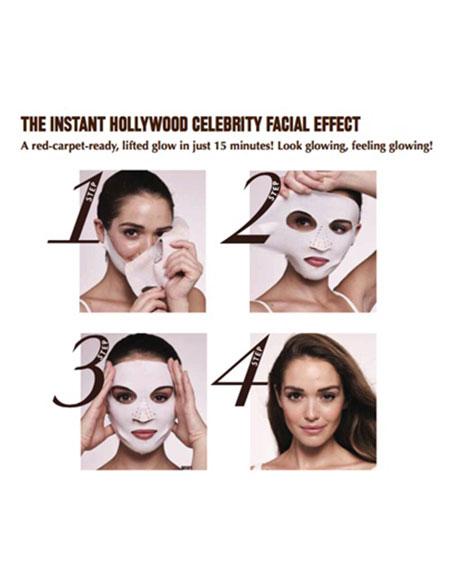 Instant Magic Facial Dry Sheet Mask, 4 pack