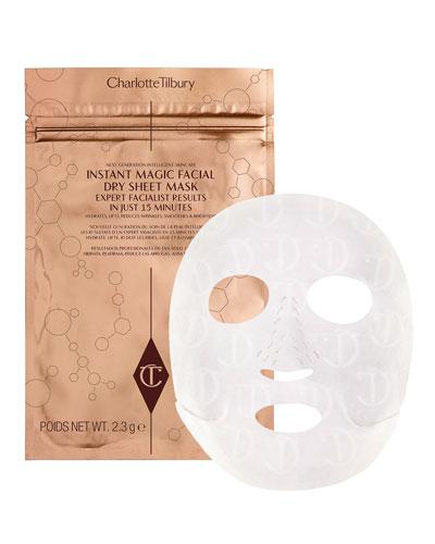 Instant Magic Facial Dry Sheet Mask  4 pack