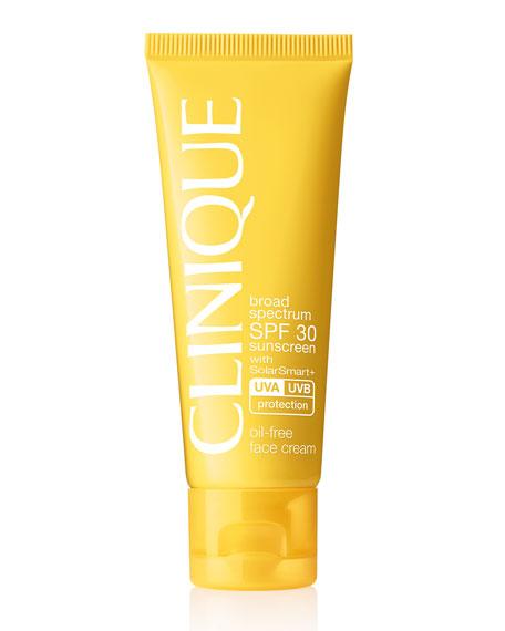 Broad Spectrum SPF 30 Sunscreen Oil-Free Face Cream, 50 ml