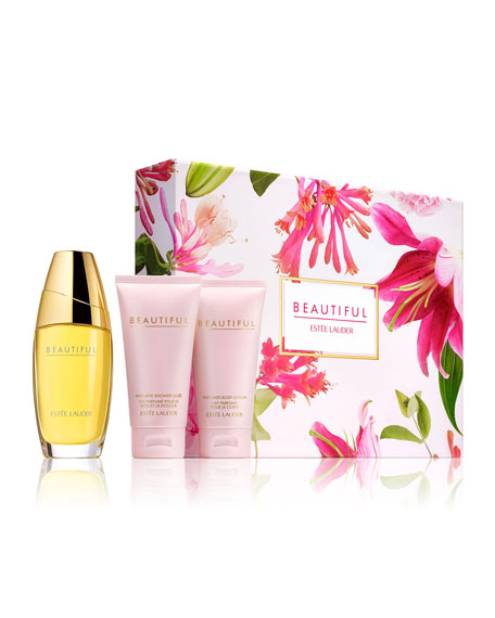 Estee Lauder Limited Edition Beautiful Romantic Favorites Set