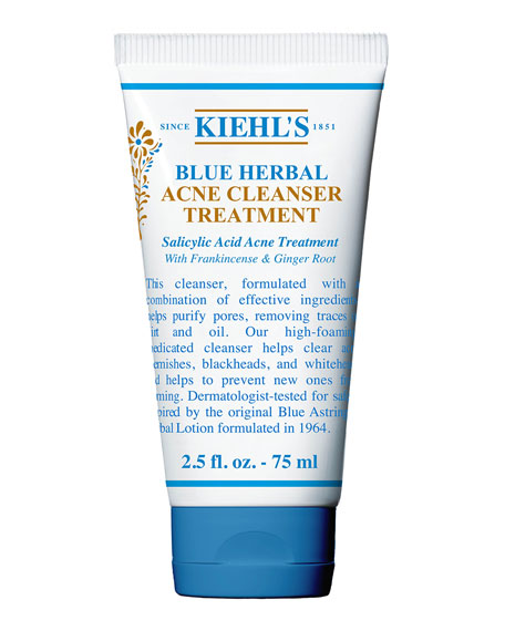 Kiehl's Since 1851 Blue Herbal Cleanser, 75 mL