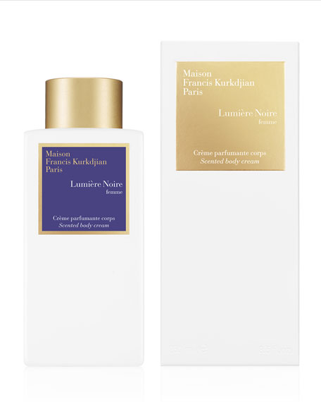 Scented Body Cream Lumière Noire femme, 8.4 oz./ 250 mL