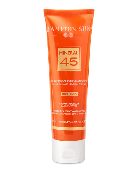 Mineral Crème Sunscreen for BODY SPF 45