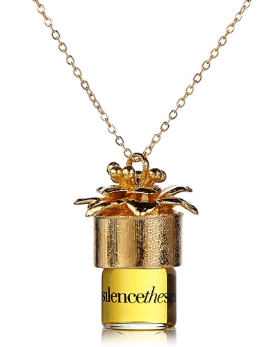 silencethesea 24 perfume necklace  1.25 ml