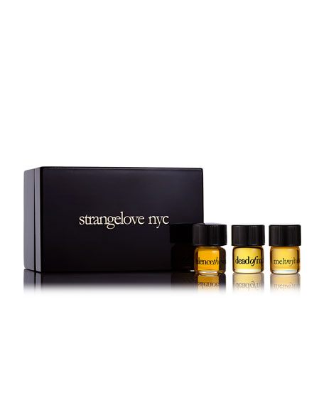 Strangelove NYC Perfume Oil Collection Set, 3 x