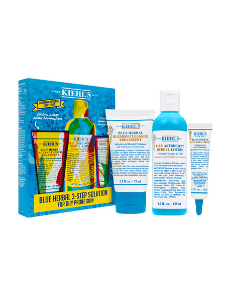Kiehl's Since 1851 Blue Herbal Acne Elimination System