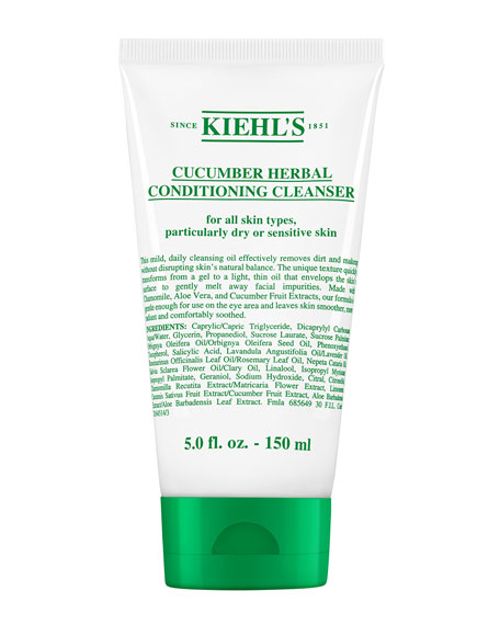 Kiehl's Since 1851 Cucumber Herbal Conditioning Cleanser, 150