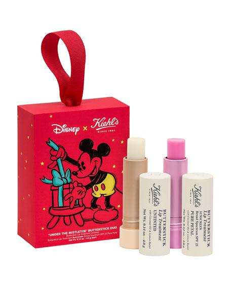 Special Edition Neiman Marcus Exclusive: Disney X Kiehl's Mistletoes Moments Butterstick Lip Treatment Duo ($39.00 Value)