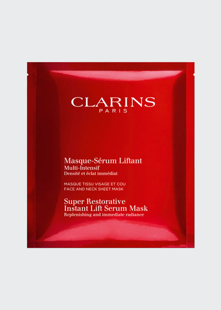 Super Restorative Instant Lift Serum Mask, 5 Pack