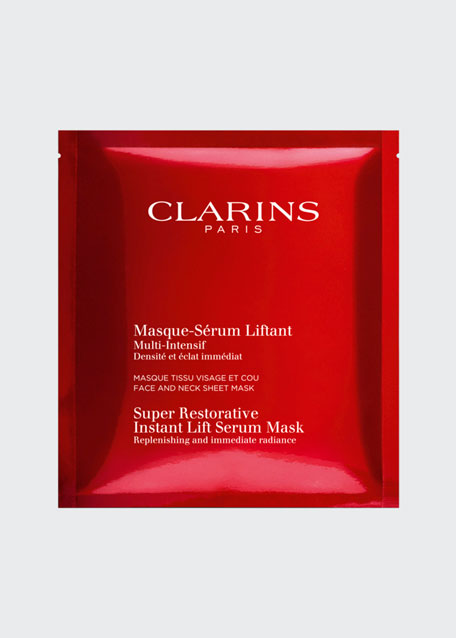 Clarins Super Restorative Instant Lift Serum Mask, 1