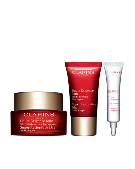 Clarins Limited Edition Super Restorative 24/7 Trio ($177.00