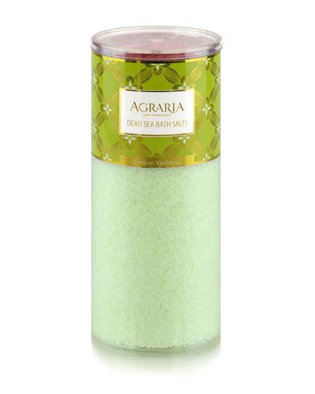 Lemon Verbena Bath Salt Tower, 16 oz./ 454 g