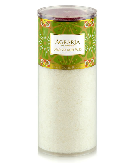 Lime & Orange Blossoms Bath Salt Tower, 16 oz./ 454 g