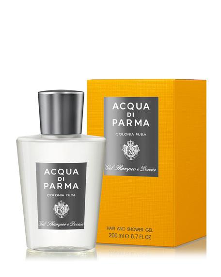 Colonia Pura Hair & Shower Gel, 6.7 oz./ 200 mL