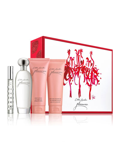 Limited Edition Est&#233e Lauder Pleasures Favorite Destination 4-piece Collection