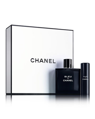 CHANEL BLEU DE CHANEL EAU DE TOILETTE TRAVEL SPRAY SET