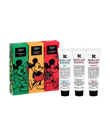 Special Edition Disney X Kiehl's Lip Balm Giftables ($25.00 Value)