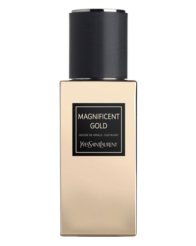Exclusive LE VESTIAIRE DES PARFUMS Collection Orientale Magnificent Gold Eau de Parfum  2.5 oz./ 75 mL