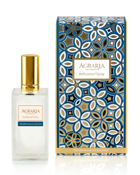 Agraria Mediterranean Jasmine Room Spray, 3.4 oz/ 100