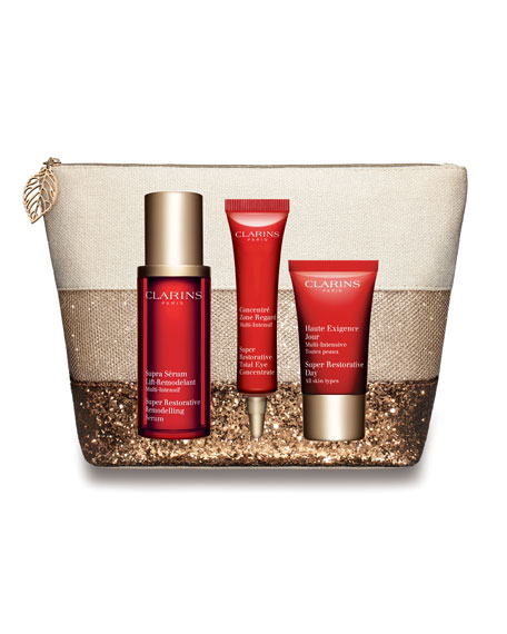 Clarins Limited Edition Super Restorative 24/7 Trio