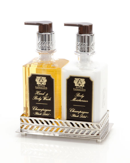 Antica Farmacista Champagne Bath and Body Gift Set