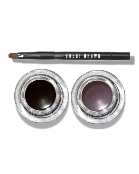 Limited Edition Cat Eye Long-Wear Gel Eyeliner & Brush Set