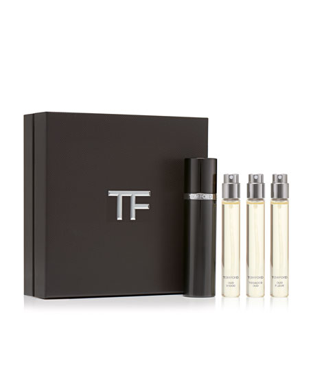 Private Blend Oud Wood Travel Atomizer Set