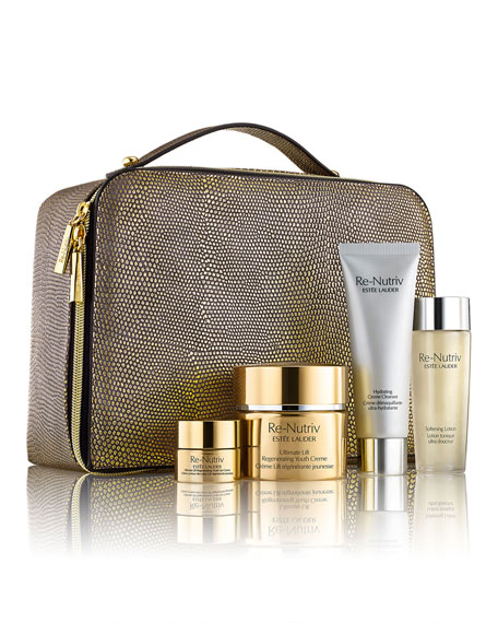 The Secret of Infinite Beauty: Ultimate Lift Regenerating Youth Collection for Face