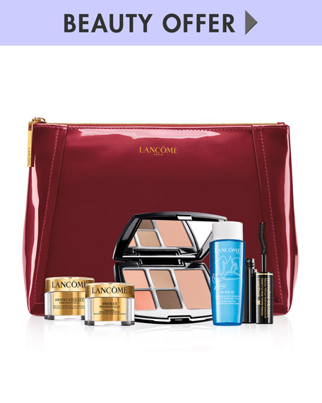 Yours with any $100 Lancome Purchase