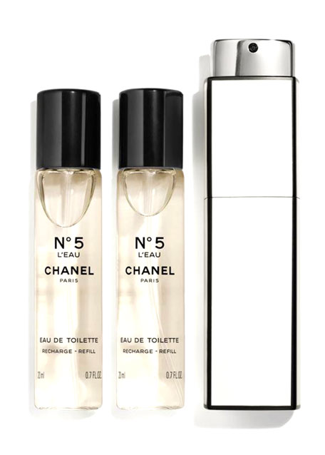 <b>N°5 EAU DE TOILETTE</b><br>PURSE SPRAY