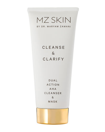 Cleanse and Clarify Dual Action AHA Cleanser and Mask  3.4 oz./ 100 mL