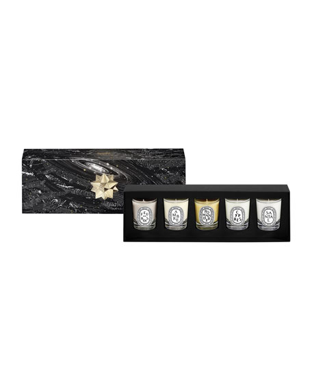 5-Piece Mini Candle Set, 1.2 oz./ 35 g