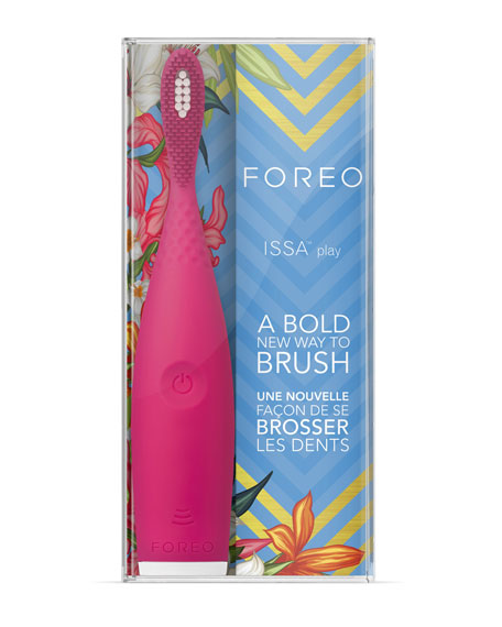ISSA Play Toothbrush in Wild Strawberry