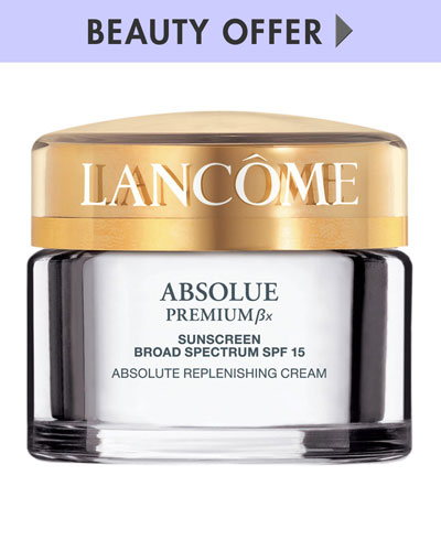 Yours with any $75 Lancome Purchase
