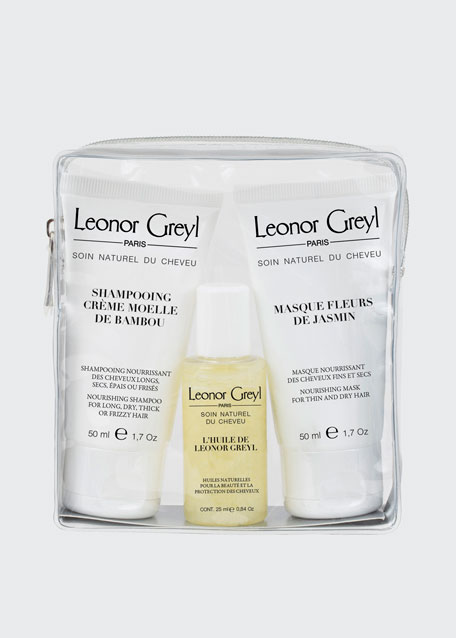 Leonor Greyl Luxury Travel Kit for Dry Hair