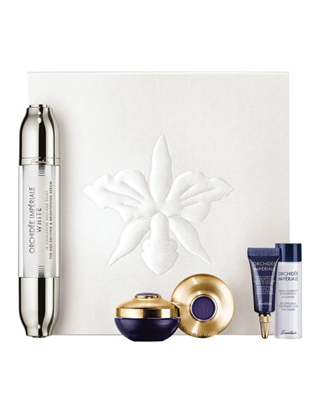 Guerlain Limited Edition Orchidée Impériale Brightening Set