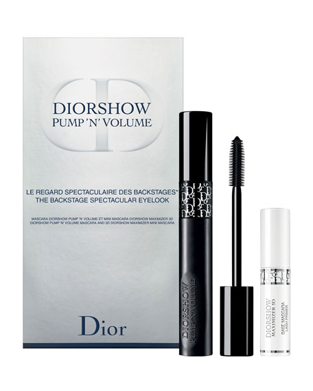 Dior 1H18 Pump N Volume Mascara Set