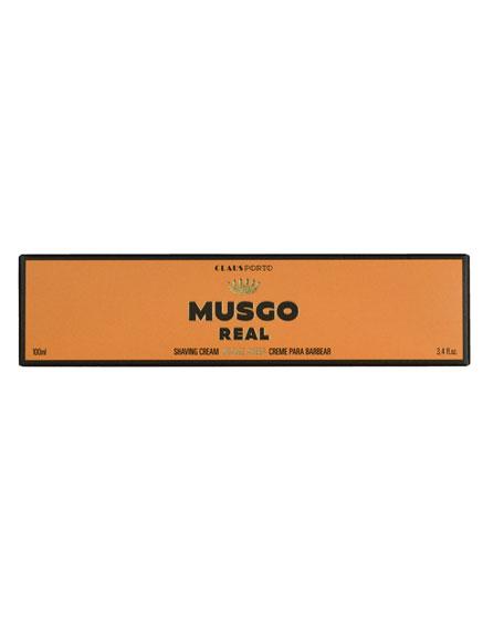 Orange Amber Shaving Cream, 3.4 oz./ 100 mL