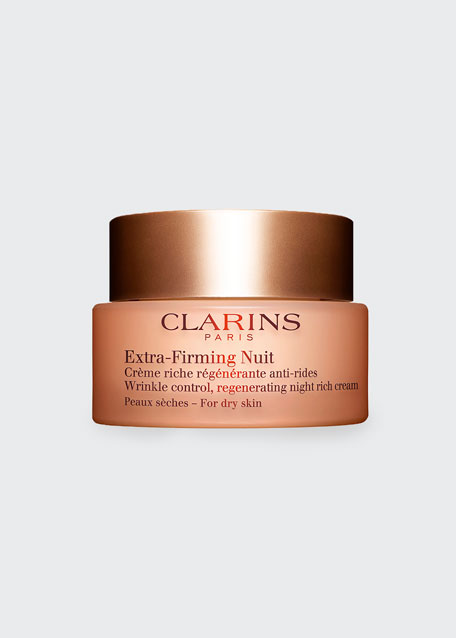 Extra-Firming Wrinkle Control Regenerating Night Cream – Dry Skin