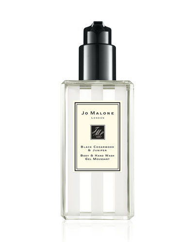 Black Cedarwood & Juniper Body & Hand Wash  8.4 oz./ 250 mL
