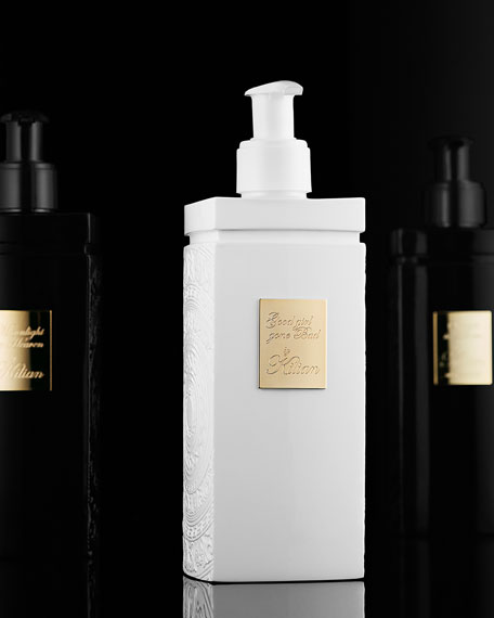 Straight to Heaven, white cristal Body Lotion 200 mL Refill and its vessel