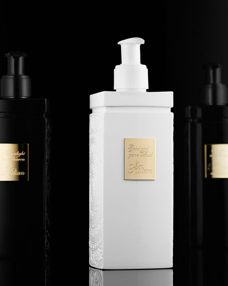 Straight to Heaven, white cristal Shower Gel 200 mL Refill and its vessel