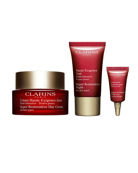 Clarins Limited Edition Super Restorative 24/7 Discovery Kit
